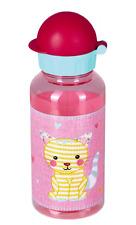 Emsa-Trinkflasche Katze Kleine Freunde aus Tritan 0,4 l rot 13942  Spiegelburg