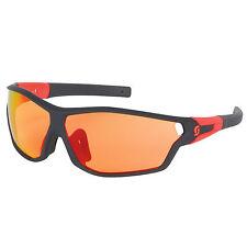 Occhiali SCOTT Mod.LEAP FULL Black Matt Lens Red/GLASSES SCOTT LEAP FULL BLACK