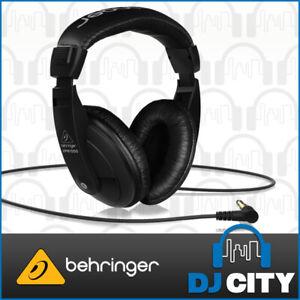 Behringer HPM1000 Black DJ Music Headphones Reference Over-Ear Stereo Headset