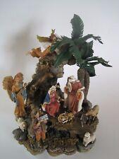 San Francisco Music Box Company Nativity O Come All Ye Faithful