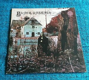 "Black Sabbath ‎– Black Sabbath - 12"" LP Vinyl Record UK 1973"