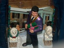 2006 Elvis Presley Signature Heirloom Christmas At Graceland Musical Ornament EX