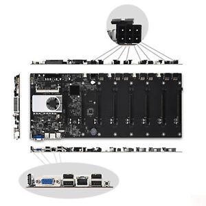 BTC-T37 Mining Motherboard Mainboard CPU Set 8-PCIE 16X HDMI+VGA DDR3 SATA III