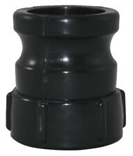 1000L IBC water tank 50mm camlock adaptor female buttress (course thread)