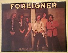 Original Vintage 70s Foreigner Iron On Transfer