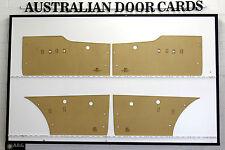 Ford Falcon XL, XK Door Cards, Blank Trim Panels. Sedan, Wagon.
