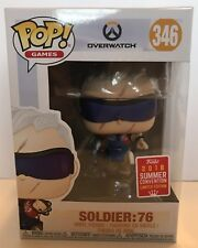 SDCC 2018 Comic Con Exclusive - Funko Pop Overwatch SOLIDER:76 #346