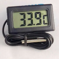 Thermometer digital LCD -50°+110°C Temperatur Anzeige Messer Termometer SALE