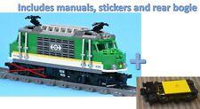 Lego Train 60198 Locomotive Engine, includes non-powered rear bogie. Ships fast