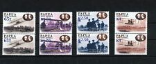 PAPUA 2003 FLIGHTS SET in MNH Pairs 8 Stamps (ELF 172s