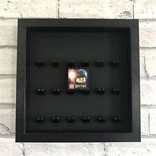 Mini Figures Display Case Frame Black Lego Brick Harry Potter