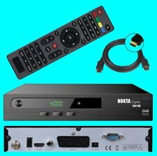 HD SAT Receiver Nokta 1461 ✔ USB ✔ HDMI ✔ Scart ✔ DVB-S2 ✔ Digital ✔ Full HDTV