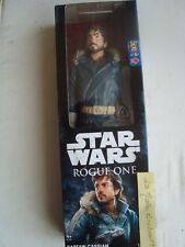 "Hasbro B7378 Disney Star Wars Rogue One Captain Cassian Andor 12"" / 30cm Figure"