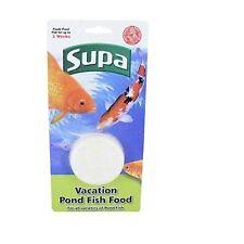 Supa Pond Holiday Vacanza feed di blocco per 2 settimane lento rilascio x 2 CONF.