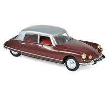 CITROEN DS 21  PALLAS 1967 DARK / RED    NOREV  1/43