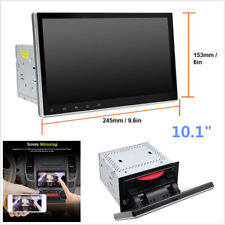 """10.1"""" Quad-Core 1+16G 2 DIN Android 7.12 Car Stereo Radio GPS DVD Player Wifi 4G"""