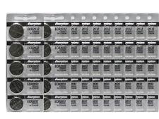 50 Pcs Energizer CR2032 ECR2032 2032 3V Lithium Battery FRESH DATE