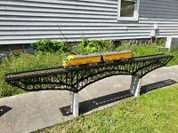 "M1920', Deck Bridge - Kit, ""G"" Gauge  Pre Holiday Sale! MAO @ $750.00"