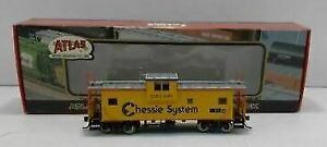 Atlas 1907 HO Chessie System Entended Vision Caboose #903295 EX/Box