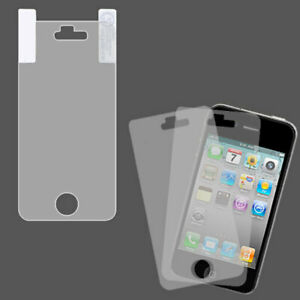 For Apple iPhone 4S/4 Screen Protector Twin Pack