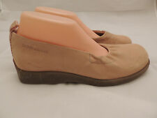 DKNY Suede Mary Jane Shoes PALE PEACH size 9 FLATS