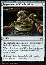 MTG 4x IMPLEMENT OF COMBUSTION - STRUMENTO DI COMBUSTIONE - AER - MAGIC