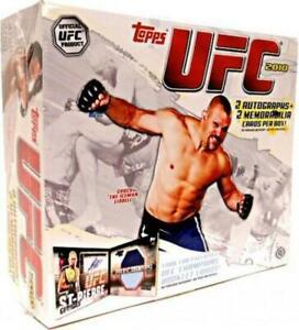 2010 Topps UFC Series 4 Hobby Box (2 Auto + 2 Memorabilia Cards/Box)