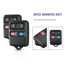2x Keyless Entry Remote Control Car Key Fob Shell Transmitter For Ford Explorer