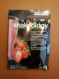 beachbody shakeology Packet strawberry expire 4/21
