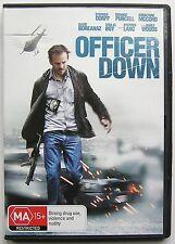 OFFICER DOWN (2013) DVD MOVIE Stephen Dorff, Stephen Lang, David Boreanaz
