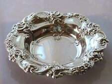Antique Gorham Sterling Silver 95 Grams Art Nouveau Repousee Bowl High Relief