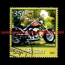 HARLEY DAVIDSON 1340 Custom Chopper Guiné BISSAU Guinée BISSAO Moto Timbre Poste