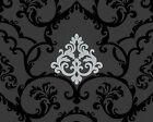 A.S. Creation Vliestapete 955381 schwarz metallic Ornamente Barock