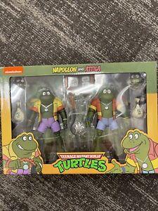 NECA Teenage Mutant Ninja Turtles Cartoon Series - Napoleon & Atilla IN STOCK