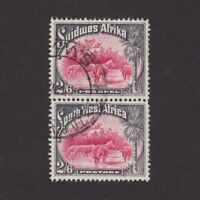SOUTH WEST AFRICA 1931, Sc# 117, CV $27, Animals, Used