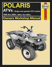 Haynes 2508 1998-2007 Polaris Variable Transmission ATV Repair Service Manual