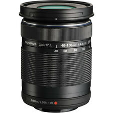 Olympus M. Zuiko Digital ED 40-150mm f4.0-5.6 R Black Lens- Authorized Dealer