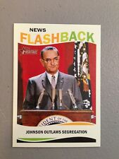 2013 Topps Heritage News Flashbacks Civil Rights Act NF-CRA