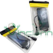 Custodia impermeabile armband+cuffie per iPhone SE 5 5S audio mare spiaggia CI5