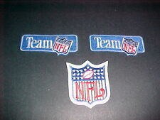 3 NFL PROTO TYPE PATCHES 1990'S