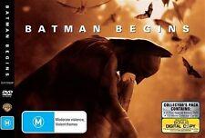 Batman Begins (DVD, 2009, 2-Disc Set) Collector's Pack -- Free Postage --
