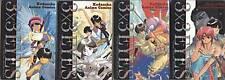 3x3 Eyes volume 1-4 Set Film Comics Oop Yuzo Takada