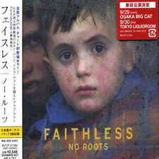 FAITHLESS No Roots w/ 2 RARE BONUS MIXES JAPAN Press CD SEALED USA seller