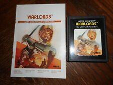 Warlords (Atari 2600 Game & Manual)