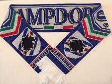 SAMPDORIA Football Scarves New from Soft Luxury Acrylic Yarns