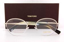 Brand New Tom Ford Eyeglass Frames 5334 032 Gold/Horn Size 52mm Women Men