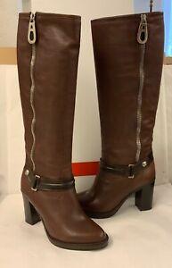 ja736#Aus Insolvenz:Hochwertige Damen Stiefel -  G&I Italy - Leder Braun - Gr.36
