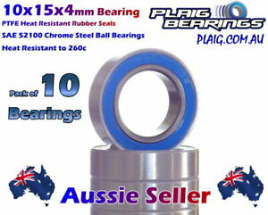 10x15x4mm Ball Bearings (10) UPGRADE to suit all HSP 1:10 RC Cars 2138 02138
