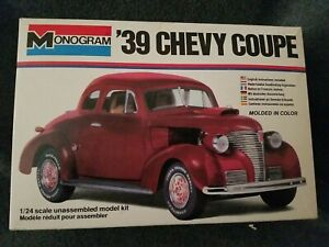 Monogram 1:24 '39 Chevy Coupe kit # 2256. A