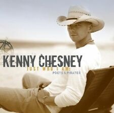 KENNY CHESNEY Just Who I Am: Poets & Pirates CD BRAND NEW